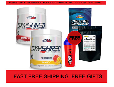 AU113.50 • Buy Ehplabs Oxyshred Ehplabs Twin Pack Genuine Ehp Labs Products Oxy Shred