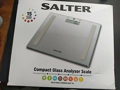 £20 • Buy Salter Compact Body Glass Analyser Scales