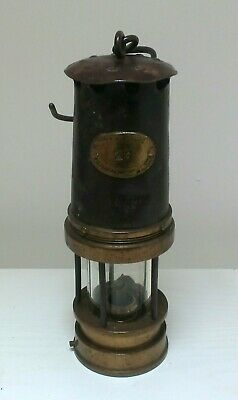 £52.99 • Buy Patterson Lamps Ltd Gateshead-On-Tyne Type A1 Mining Pit Davy Lamp Number 29