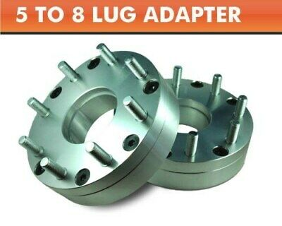 AU175.98 • Buy 2 Wheel Adapters 5x4.5 To 8x6.5 ¦ RAM 2500 8 Lug Wheels On Explorer Ranger