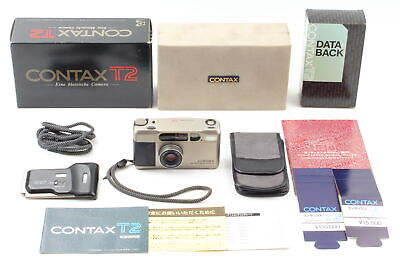 $ CDN1818.50 • Buy 【MINT++ In BOX】 CONTAX T2 Zeiss Sonnar 38mm F2.8 T* Lens W/ DATA BACK From JAPAN