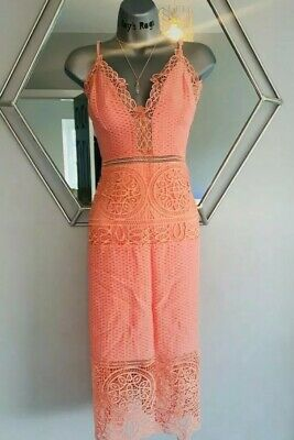£27.90 • Buy Lovely Summer Dress  Pink Light River Island Women  Sold Out £75.00, Size L/12