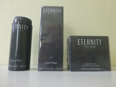 Calvin Klein Eternity For Men Powder And Soap • 149£