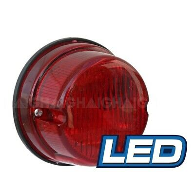 AU20.95 • Buy LED Round Trailer Lamp 12v Stop Tail Licence Plate Light 50000 Hrs 79mm X 42mm