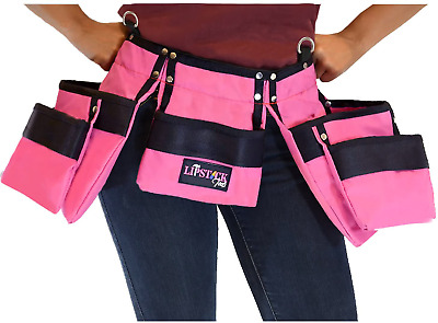 AU48.16 • Buy Pink Tool Belt For Women. Keep Your Gardening And Home Improvement Tools Within