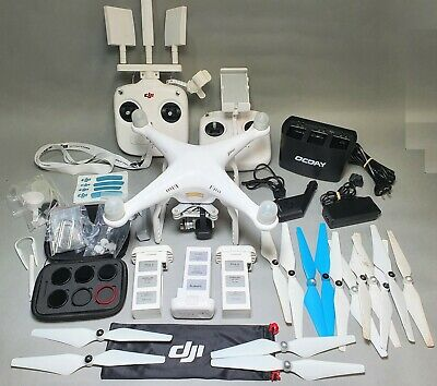 AU649 • Buy Dji Phantom 3 Se Camera Drone With Acc's Pack & Carry Bags **read Condition**
