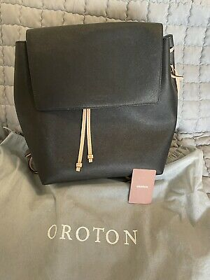 AU79 • Buy Original Near New OROTON Backpack/Shoulder Bag / Handbag-very Good Condition
