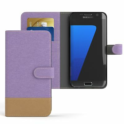 $ CDN8.66 • Buy Case For Samsung Galaxy S7 Edge Jeans Cover Phone Protective Cover Purple
