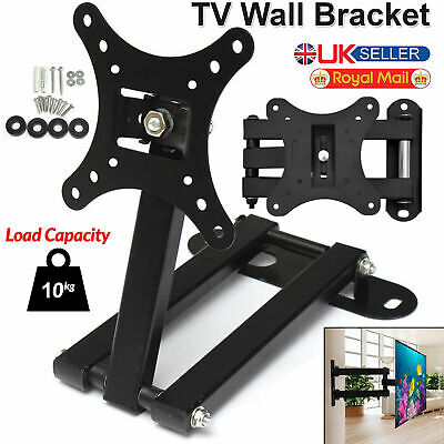 AU15.58 • Buy TV Wall Bracket Mount For Inches 3D LCD LED Plasma 14  - 30  All Samsung LG Sony