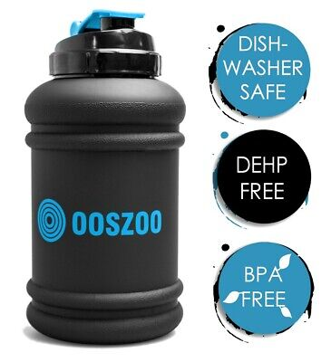 £9.99 • Buy OOSZOO Water Bottle Gym Workouts 2.2 Litre And Dishwasher Safe - BPA & DEHP Free