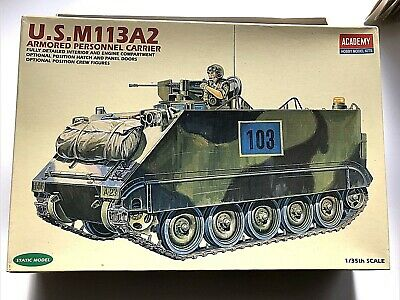 $26.90 • Buy  Academy Minicraft U.S. M113-A2 1/35 Armored Personnel Carrier 1993