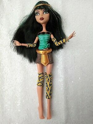 £14.99 • Buy Monster High Doll Cleo De Nile Schools Out Signature Series Wave 2 & Clothes