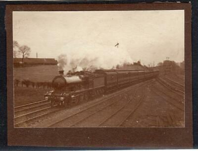 Vintage Photograph Of Caledonian Railway Train (C61547) • 6.95£