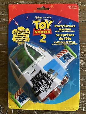£12.88 • Buy NEW Sealed TOY STORY 2 Buzz Lightyear Party Favor SPACESHIP (2002, Disney) Rare!