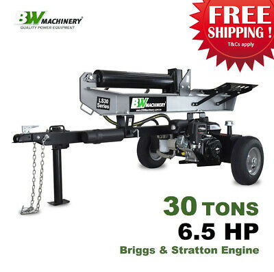 AU2149 • Buy BWM LS30 30 Ton Log Splitter - Briggs & Stratton 6.5hp Engine