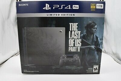 AU1135.81 • Buy Sony PS4 Pro 1TB The Last Of Us Part II Limited Edition Bundle BRAND NEW