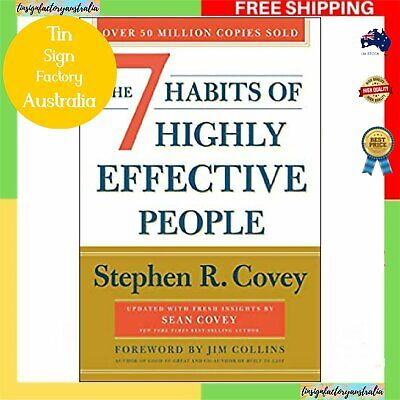 AU30.87 • Buy THE 7 HABITS OF HIGHLY EFFECTIVE PEOPLE | Paperback Book