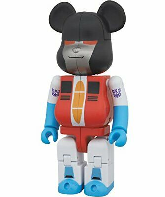 $79.99 • Buy Be@Rbrick × Transformers Starscream Figure Bearbrick