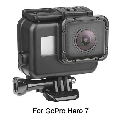 $ CDN15.82 • Buy For Gopro Hero 7 Diving Waterproof Housing Case Cover Protective Shell 60m Black