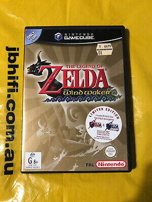 AU110 • Buy The Legend Of Zelda: Wind Waker (Limited Edition) GameCube Game *VGC*