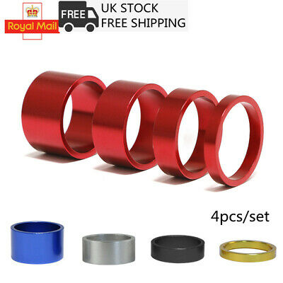 £3.96 • Buy 1 Set Bicycle Headset Spacer Mountain Bike Headset Washer Front Stem Fork Spacer