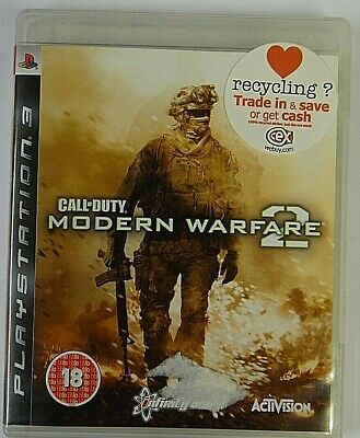 Sony PlayStation 3 Call Of Duty Modern Warfare 2 Complete (See Pics) • 3.50£