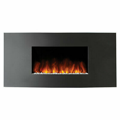 £299 • Buy Studio 1 Wall Mounted Electric Fire With Verve Graphite Steel Front