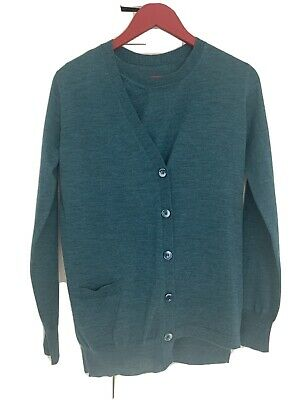 Maison Margiela Buttoned Wool Cardigan Jumper S.S Can Be Worn In 3different Ways • 45£