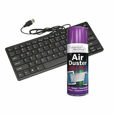 £5.89 • Buy Air Duster Compressed Spray 200ML Cleans Laptops Keyboard Computers Mobile NEAT