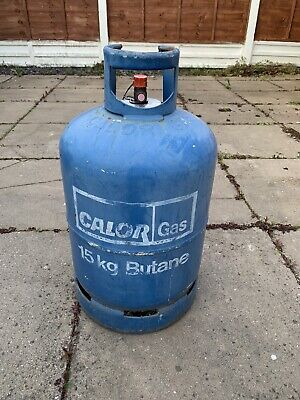 CALOR GAS BOTTLE -15kg Empty Butane • 4.99£
