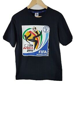 £16.99 • Buy South Africa World Cup 2010 Mens T Shirt Large Size L Black Short Sleeved Fifa