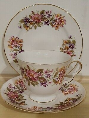 £5.99 • Buy Vintage Colclough Wayside Bone China Teacup And Saucer Coronet Style Vgc