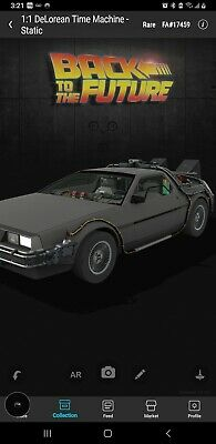 $36 • Buy Veve The Delorean Time Machine RARE Series 1 NFT First Appearance!