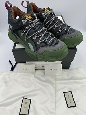 AU637.52 • Buy Men's Gucci Flastrek Sneakers Size 12.5  Made In Italy