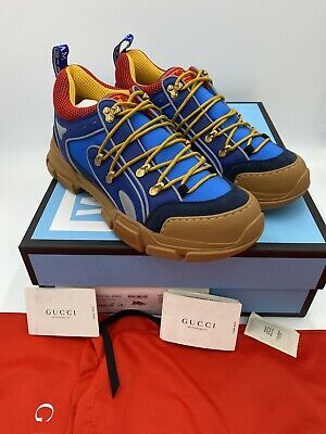 AU637.52 • Buy Men's Gucci Flastrek Sneakers Size 11 Made In Italy