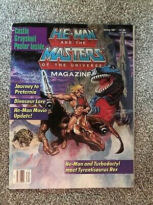 $20 • Buy Vintage He-Man And The Masters Of The Universe Magazine Spring 1987 Vol 3 No 2