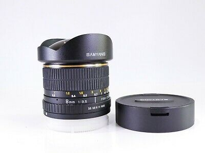 AU230.77 • Buy Minolta A / Sony A Mount Fit Samyang 8mm F3.5 Fish-eye Cs Wide  Lens For Apsc