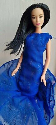 Made To Move Barbie Purple Top Rebodied Doll 2017/90s, OOAK • 4£