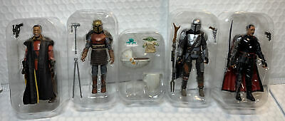 "$ CDN109.17 • Buy Star Wars The Vintage Collection Mandalorian Lot Of 5 3.75"" Figures VC181 VC179"