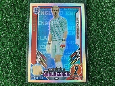 £2.50 • Buy Topps Match Attax Euro 2012 Joe Hart Hundred 100 Club Card #210 - England