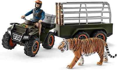 £27.98 • Buy Schleich Quad Bike With Trailer And Ranger Play Set For Children Over 3 Years