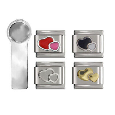 £5.95 • Buy Bundle Charms With Charm Tool Fit In All Classic 9mm Italian Style Charms UK