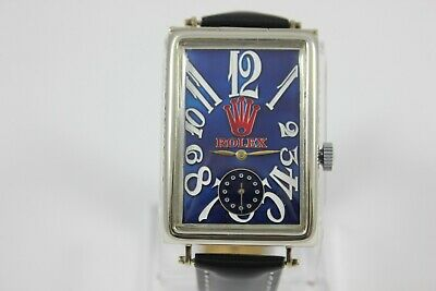 $ CDN1039.91 • Buy SUPERB 1925 ROLEX TANK GENTS Art Deco VERY RARE WATCH MOVEMENT SERVICED