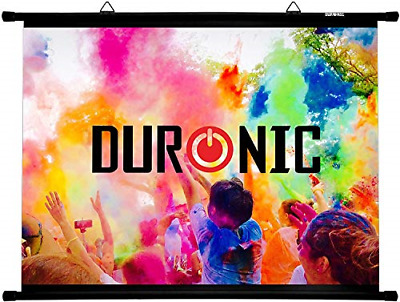 £36.97 • Buy Duronic Projector Screen BPS40/43 Simple Bar Wall Mountable HD Projection Screen