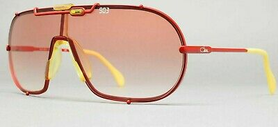 $350 • Buy CAZAL Sunglasses MOD 903/1 COL 326  West Germany 1980 S Matte Red/Red /Authentic