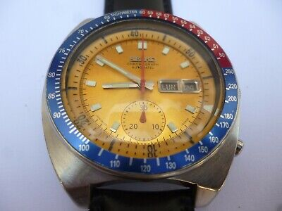 $ CDN485.26 • Buy Vintage Seiko Pogue 6139 6002 Chronograph  In Stunning Condition