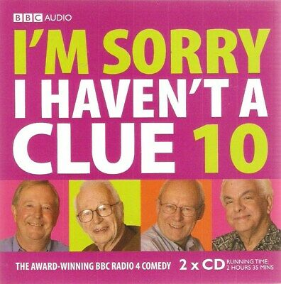 £1.99 • Buy I'm Sorry I Haven't A Clue 10 (2xAudio CD 2014)