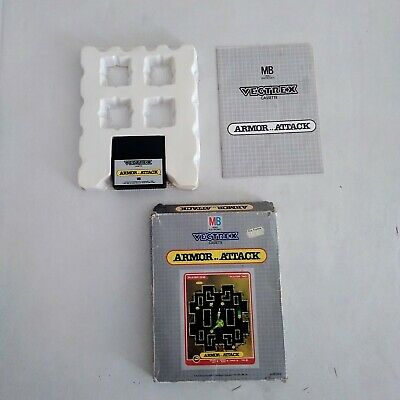 £40 • Buy Vectrex Armour Attack  ( WORKING )
