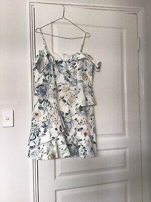 AU60 • Buy Brand New Forever New Ruffle Skirt Dress Size 16 With Tags