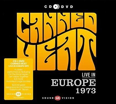 £8.99 • Buy  Canned Heat – Live In Europe 1973 (New Sealed CD+DVD) B43